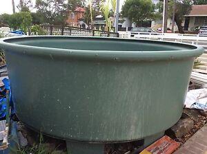 Heavy duty plastic pond 2400cmx900 round diagrams $900 Cabramatta West Fairfield Area Preview