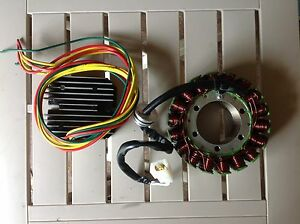 Honda Goldwing stator/regulator