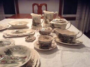 Set de vaisselle Johnsons & Brothers, England