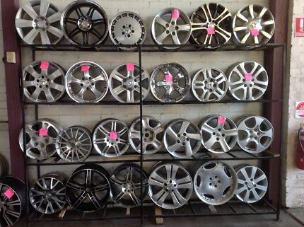 """HUGE RANGE OF ALLOY WHEELS AT THE LOWEST PRICES, 14""""-18"""" Smithfield Parramatta Area Preview"""