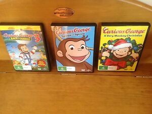 Curious George DVD Movies Chadstone Monash Area Preview