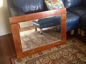 Timber Framed Mirror Brighton Brisbane North East Preview