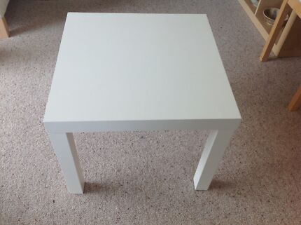 IKEA square coffee table white Centennial Park Eastern Suburbs Preview