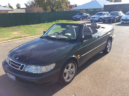 2001 Saab 9-3 Convertible & 1998 Saab 900S - Easy Project Belmont Belmont Area Preview