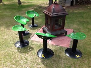 7 Fire pit chairs 700$