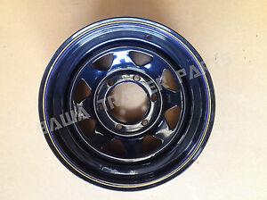 Sunraysia-15-6-STUD-LANDCRUISER-RIM-BLACK-Trailer-Parts