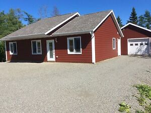 NEW HOUSE FOR SALE IN ST. PETER'S - BRAS D' OR LAKE VIEW