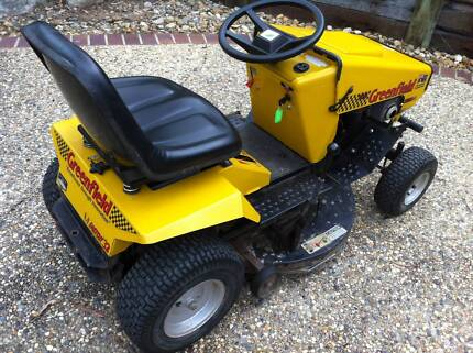 RIDE ON MOWER GREENFIELD 15.5HP 32Inch Cut Kenmore Hills Brisbane North West Preview