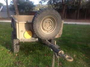 Ex Army no 5 half ton trailer Mount Evelyn Yarra Ranges Preview
