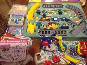 Motorised train set, build and play set, puzzle x 2 , books x 2 Brinsmead Cairns City Preview