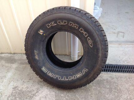 Wanted: Kumho venture tyre