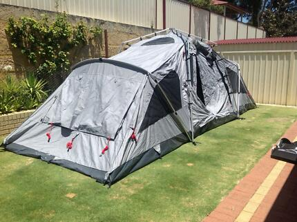 Jet tent F25DX made by Oztent 10 person & Jet Tent F25 (Made by Oztent) Used once and as new. | Camping ...