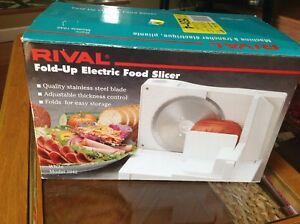 Rival Fold-Up Electric Slicer