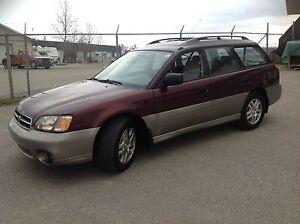 2000 Subaru Outback wagon awd  clean