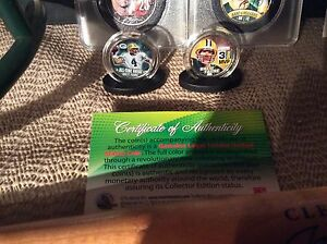 Packers coins