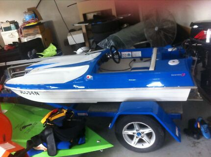 Mercub speed boat Seaham Port Stephens Area Preview
