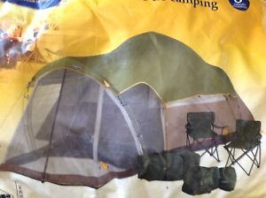 8 Person Tent with Screen Room