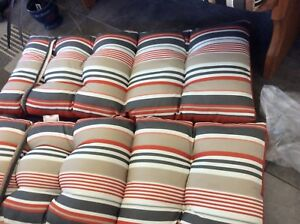 New- outdoor chair cushions