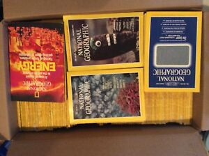 137 editions of National Geographic magazines starting in 1970