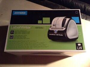Imprimante à étiquette Dymo label ériger turbo 450 neuve