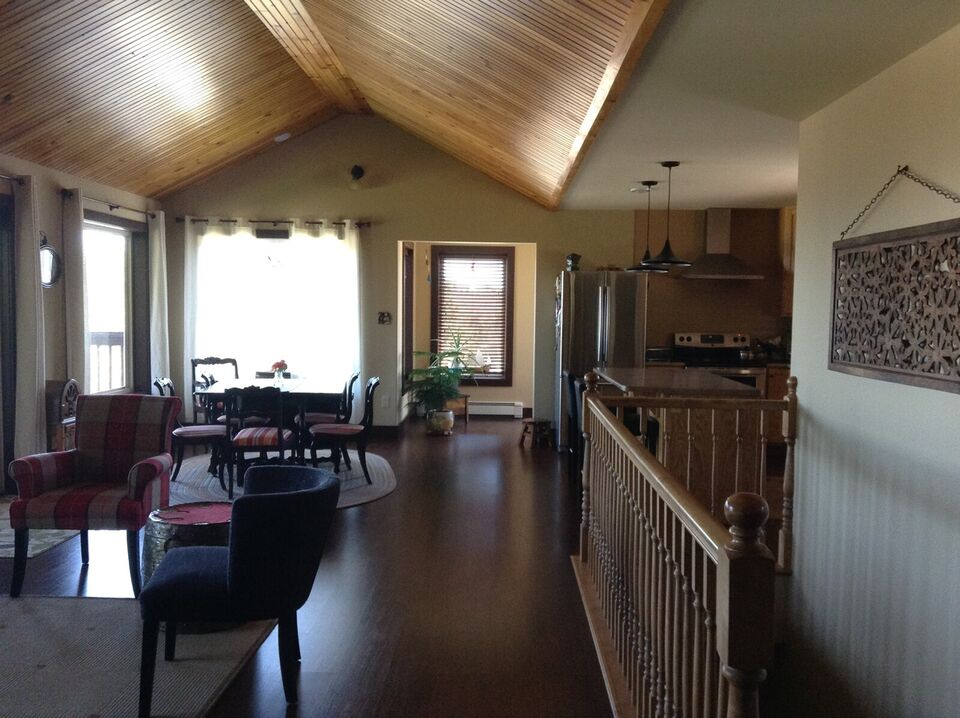 home for sale overlooking the beautiful bay of fundy