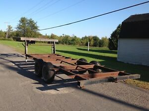 5th wheel trailer frame for sale