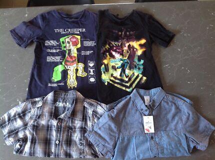 Minecraft shirt size baby children gumtree australia free t shirts boys minecraft urtaz Gallery