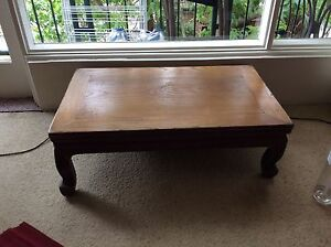 Japanese table for sale Croydon Burwood Area Preview