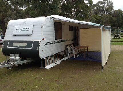 Caravan Royal Flair low tare weight