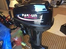 15 HP Parsun like new Still running in , 20 Litre Fuel tank Fremantle Fremantle Area Preview