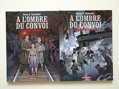 EO 2012 2013 (très bel état) À l'ombre du convoi (histoire complète en 2 tomes)