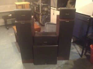 Complete home theatre multi speaker system