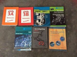 Year 12 WACE Textbooks Landsdale Wanneroo Area Preview