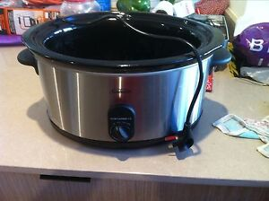 Sunbeam 5.5L Slow Cooker without lid Edensor Park Fairfield Area Preview