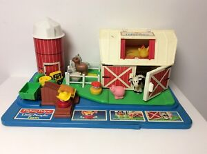 Fisher Price Little People Farm Store Display