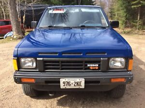 1987 Nissan Extra Cab pickup