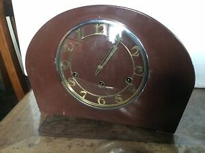 1950 mantle clock Fyansford Geelong City Preview