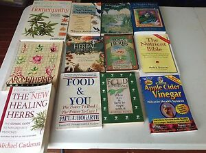 13 books about herbs and there healing Beenleigh Logan Area Preview