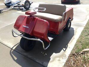 Golf cart Harley Davidson