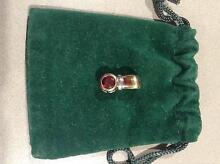 9ct Gold Garnet Enhancer. Brand New. Unwanted Gift. Eaton Dardanup Area Preview