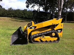 Caterpillar Rubber Track Loader 259B3 Mothar Mountain Gympie Area Preview