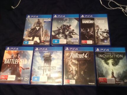 PS4 games swap or trade Tweed Heads South Tweed Heads Area Preview