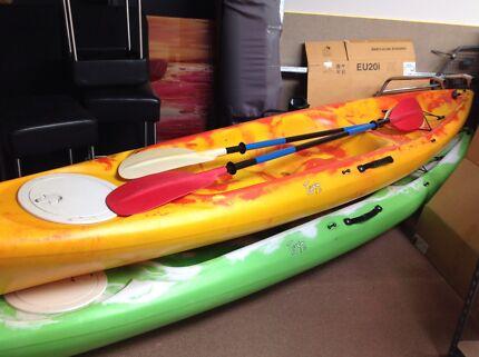 Sit on Top Sea Kayaks canoe surf ski