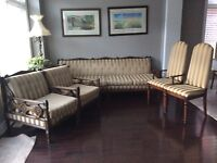 Vintage couch set w/ chairs 1960's