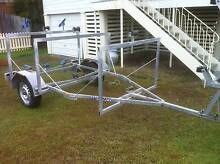Dual trailer for lasers, sabres or kayaks. $750 RELISTED Wynnum Brisbane South East Preview