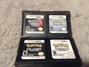 Pokemon  DS games and DS action reply