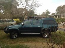 1999 Toyota Hilux SR5 Dualcab Ute Fraser Belconnen Area Preview