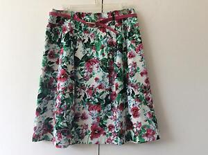 Floral skirt - Jacqui E size 12 Watson North Canberra Preview