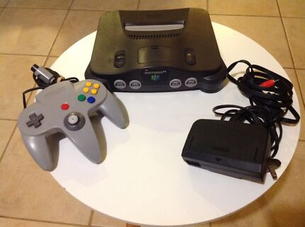 Nintendo 64 Console with controller Tested all cords power and Av