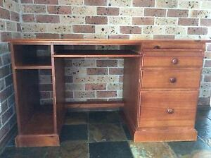 FREE large, solid computer desk plus chair Cherrybrook Hornsby Area Preview
